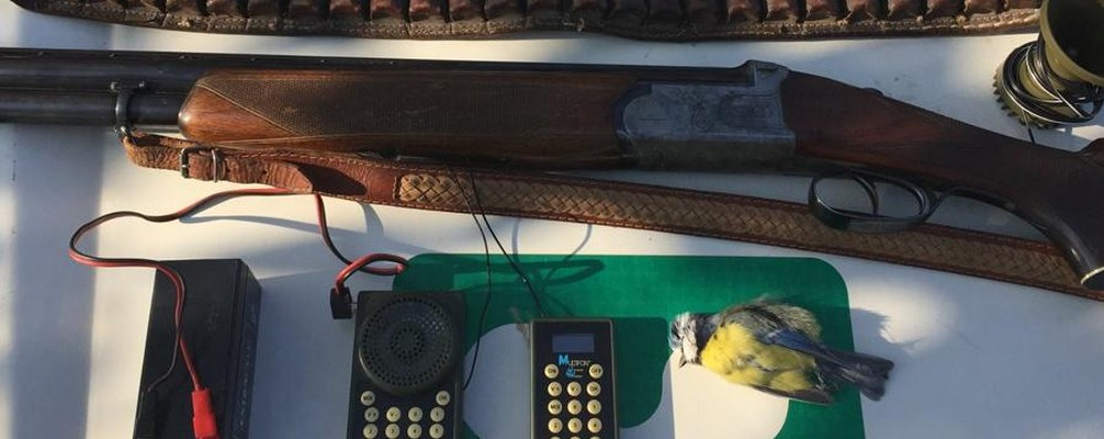 Stragi di uccelli protetti, raffica di controlli Denunciati 37 cacciatori - Foto e video