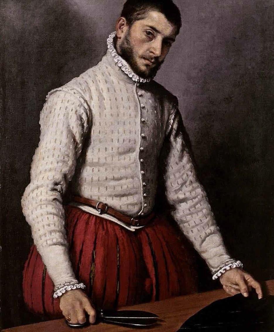 Giovanni Battista Moroni, «Il sarto», Londra, National gallery