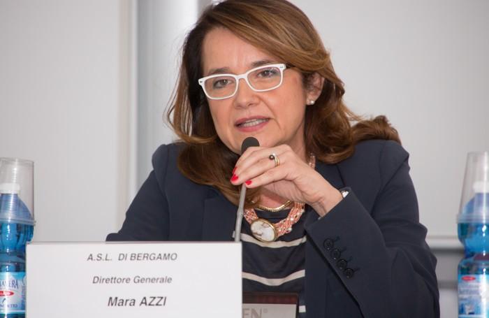 Mara Azzi, direttore generale dell'Asl di Bergamo