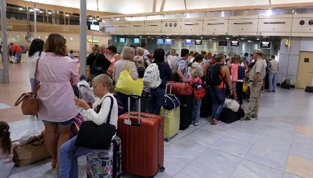 Aereo Sinai:partono primi turisti Italia