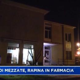Costa di Mezzate, rapina a mano armata in farmacia