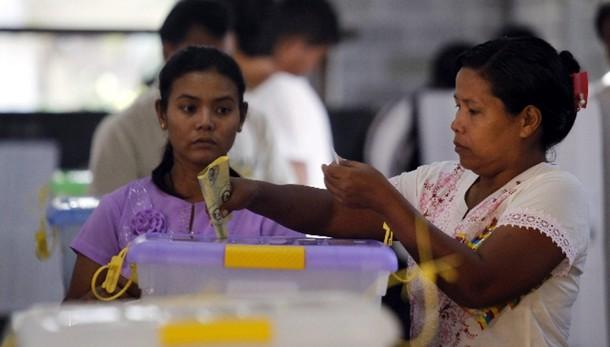 Birmania, iniziate prime elezioni libere