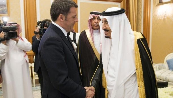 Arabia Saudita, Renzi pone tema diritti