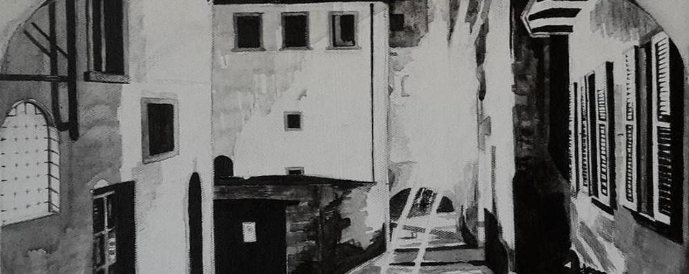 Il bianco e nero di Clare Hemsley l'inglese innamorata di Città Alta