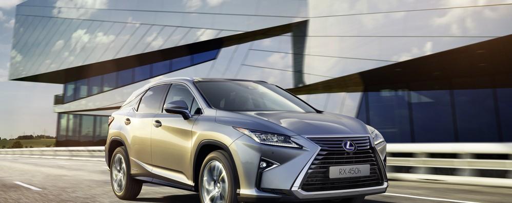 Nuovo Lexus RX Hybrid È scattata la prevendita