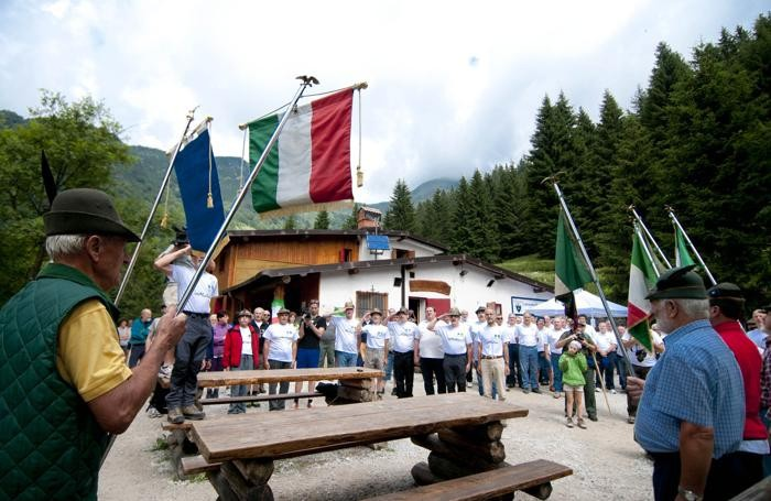 Uno dei tanti eventi  all'Alpe Corte