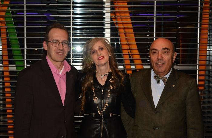 I tre fiduciari Slow Food della Bergamasca. Da sin. Golino, Schiavino e Magni