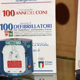 Banca Popolare a fianco del Coni Donati 125 defibrillatori per lo sport