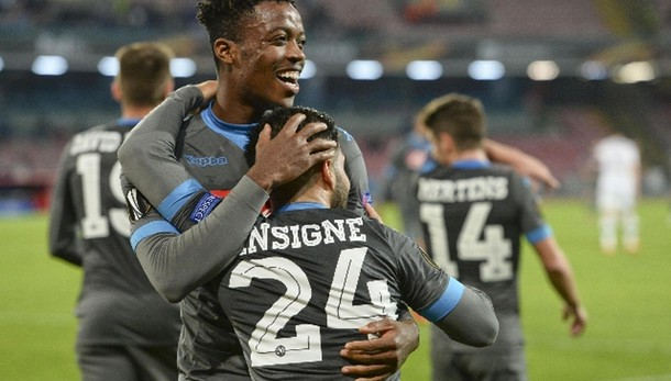 E.League: Napoli-Legia Varsavia 5-2
