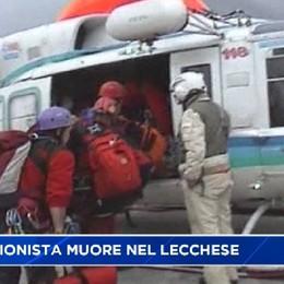 Escursionista di Valbrembo muore nel lecchese