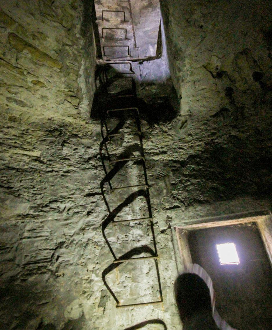 L'interno della torre