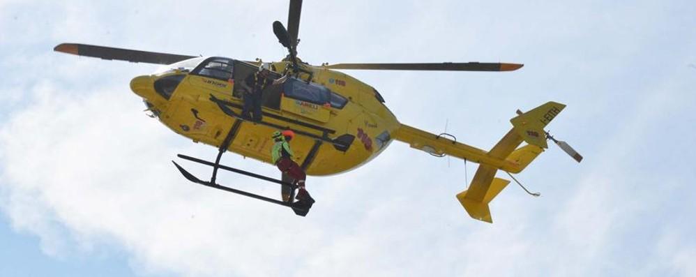 Cade in un dirupo durante l'escursione Muore pensionato di Valbrembo
