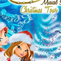 Le Winx tornano in tour natalizio Il 3 gennaio c'è il Christmas show