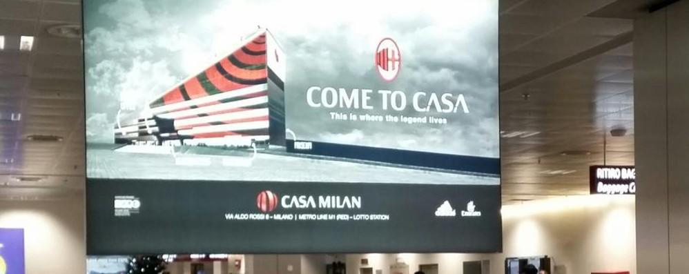 Orio, un benvenuto sportivo «Venite a Casa Milan»