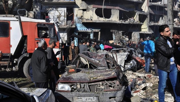 Siria: autobomba a Homs, almeno 8 morti