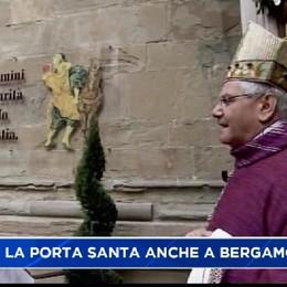 Aperta anche a Bergamo la Porta Santa del Giubileo