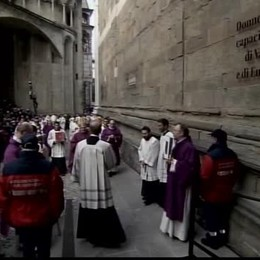 Apertura della Porta della Misericordia nel Duomo di Bergamo