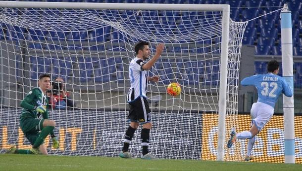Coppa Italia: Lazio batte Udinese 2-1