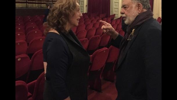 Coppola a Roma spettatore per Sandrelli