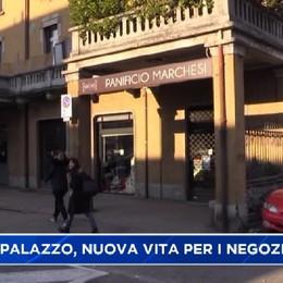 Nuova vita per i negozi chiusi in Borgo Palazzo