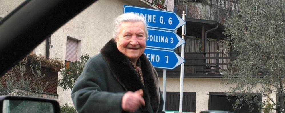 Addio alla decana dei bergamaschi Margitì si  è spenta a (quasi) 112 anni