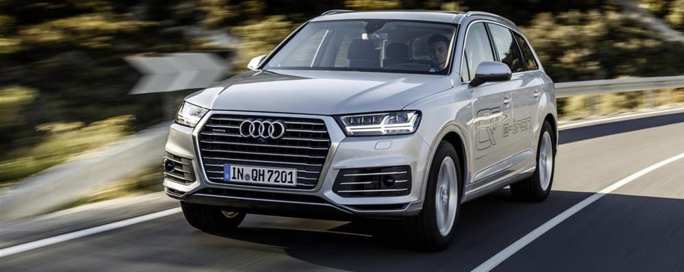 Audi Q7 e-tron quattro La sfida del Suv ibrido
