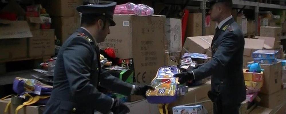 Comprate solo giocattoli col marchio CE Sequestrati 9  milioni di prodotti pericolosi