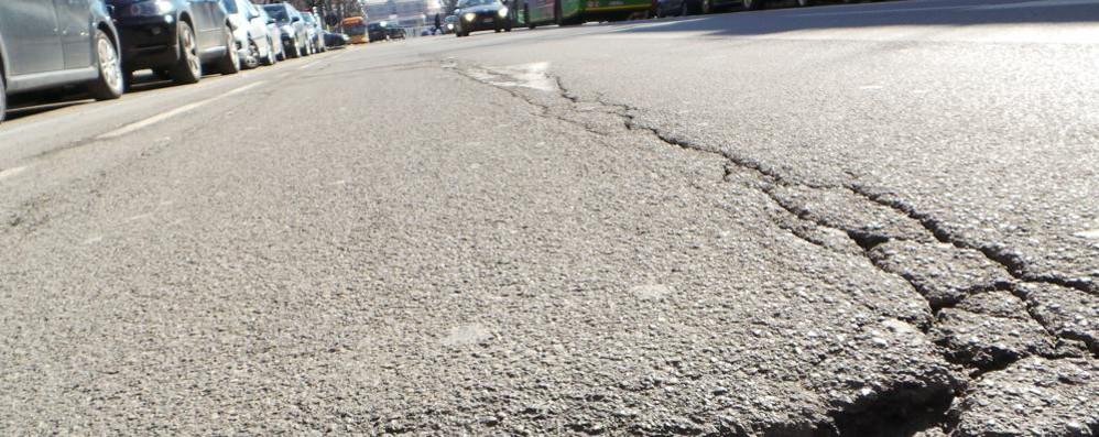 Ecco le asfaltature previste nel 2016 Un intervento da 600 mila euro - Mappa