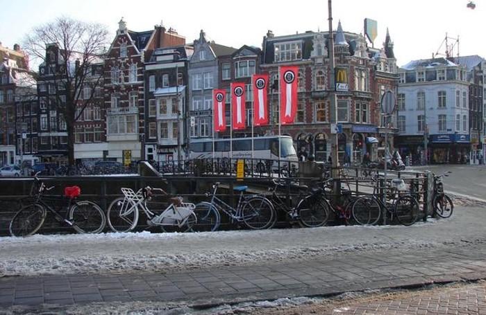 Un panorama di Amsterdam