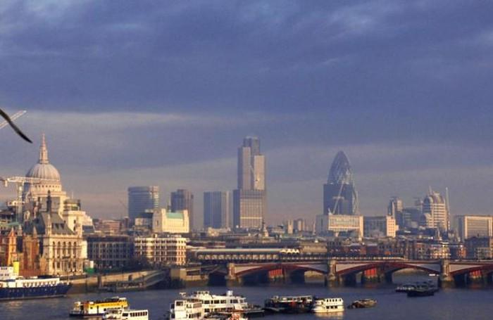 Un panorama di Londra