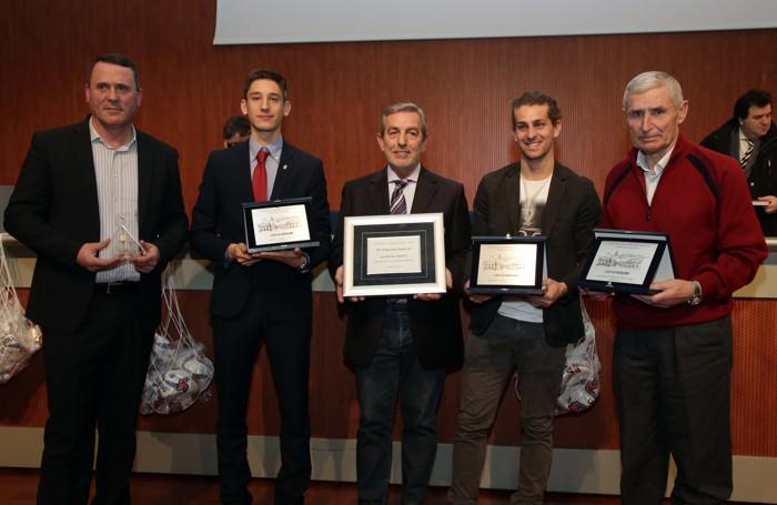Almanacco del calcio 2015-2016: nella foto tutti i premiati