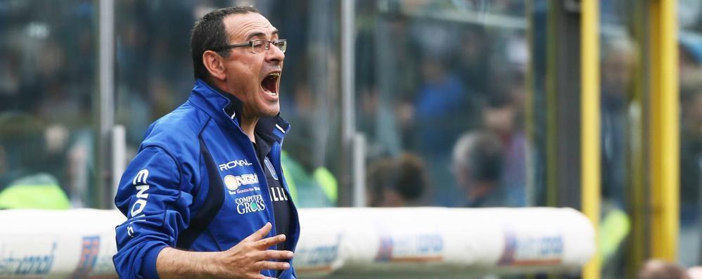 Sarri: «Sarà durissima a Bergamo L'Atalanta in casa è una grande»