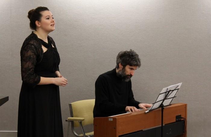 Il soprano Francesca Longa