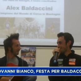 Corsa in montagna, festa per Alex Baldaccini