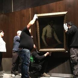 Ecco le prime immagini del Sarto Il quadro del Moroni è tornato a casa