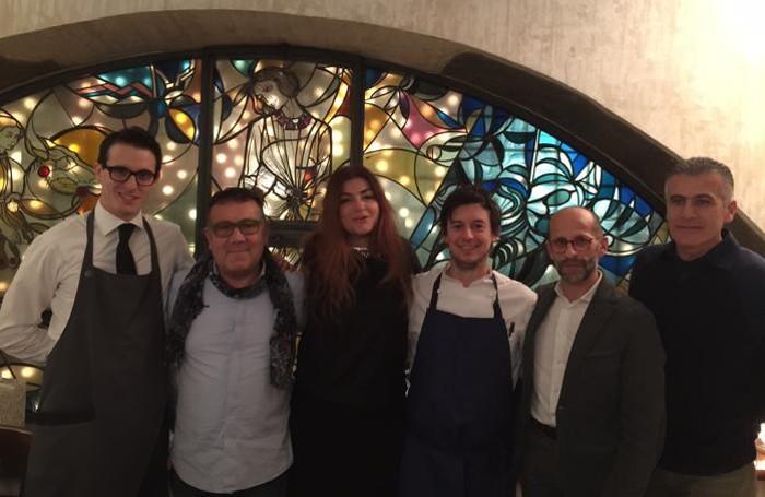 Da sinistra, Alessio Monachello, Maurizio Beretta, Roberta Agnelli, Giuseppe Cereda, Luigi Mascheretti, Claudio Riva