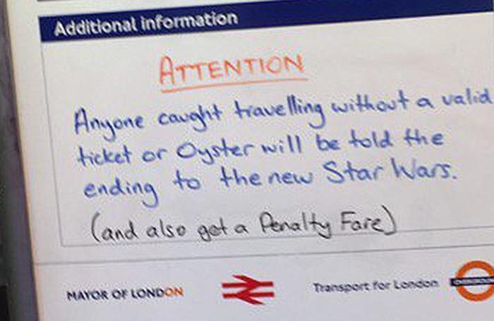 reputable site 20c13 7e536 Londra, senza biglietto in metrò? «Ti diciamo il finale di ...