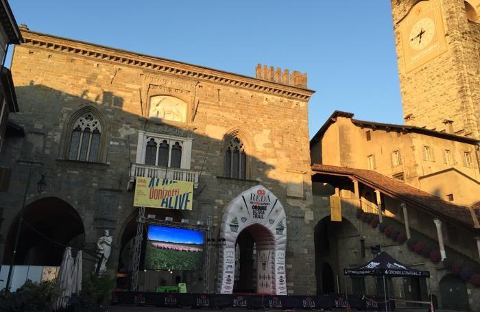 Orobie Ultra Trail - Piazza Vecchia