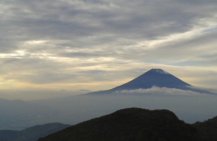 Tramonto sul Monte Fuji