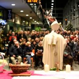 Natale, la Messa in stazione