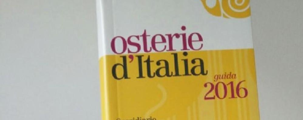 Guida Slow Food delle Osterie d'Italia New entry: ristorante La Baita di Colere