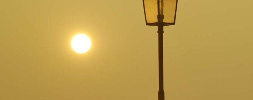 Settimana con sole, nebbia e smog Ma domenica 3 possibile nevicata