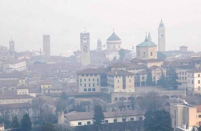 Smog a Bergamo