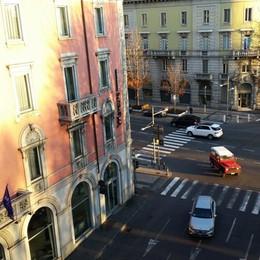 Bergamo dispari, poche auto e 4 multe Polveri sottili, livelli ancora alti - Video