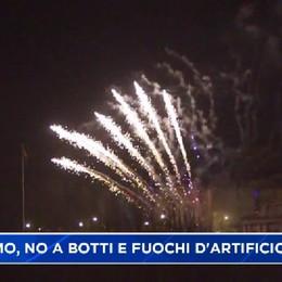 Capodanno, il Comune di Bergamo annulla i fuochi d'artificio