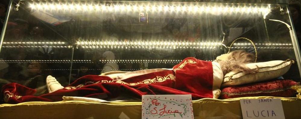 «Cara Santa Lucia, ti scrivo...» Firmato De Luca e Lodoli