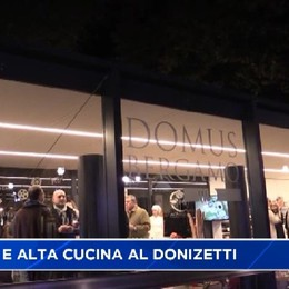 Cracco, Cerea e Oldani: alta cucina e lirica al Donizetti