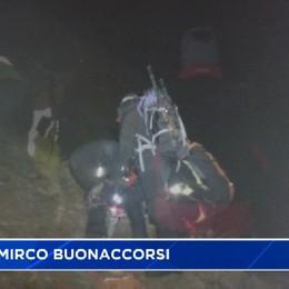 Giovani escursionisti salvati nella notte dal Soccorso Alpino