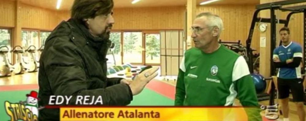 Staffelli porta il Tapiro all'Atalanta Ecco il video completo di Striscia