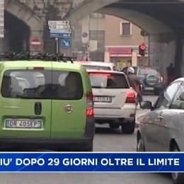 Giù lo smog a Bergamo dopo un mese oltre i limiti. 80 giorni di superamento nel 2015